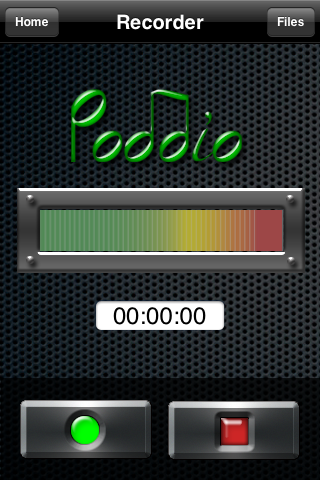Poddio Record Screen