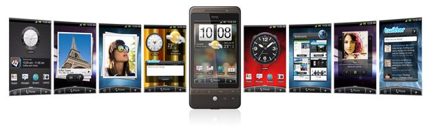 HTC Scenes UI