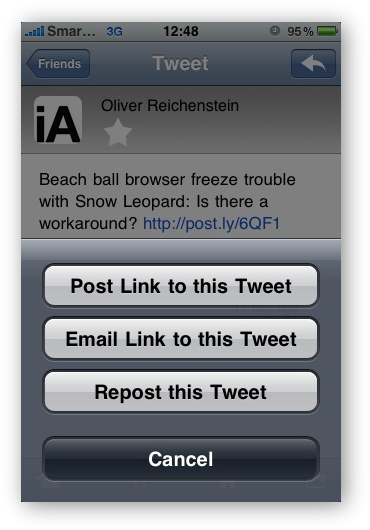 SimplyTweet -  Redirect-tweet