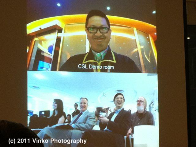 CSL LTE USB Modem Launch - Video Conference Demo