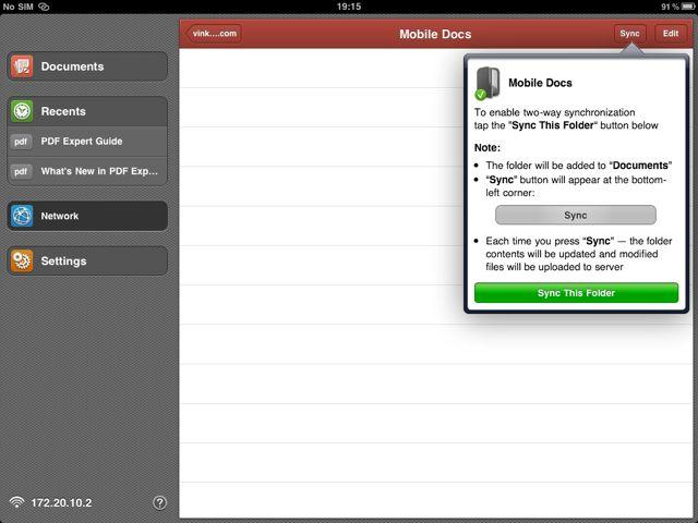 Add New Sync Folder