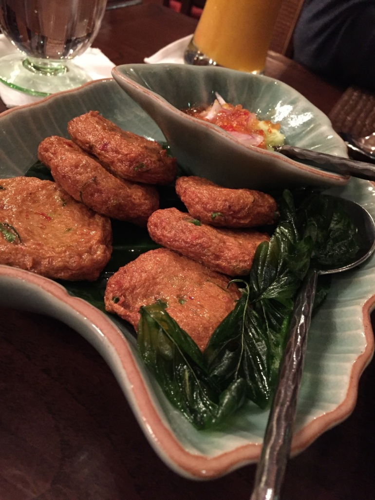 Fried Fish Cake. (Tod Man Pla)